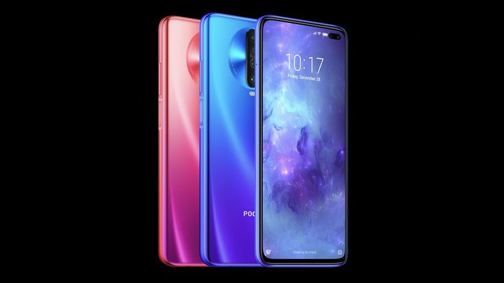 Poco X2 announced with 120Hz display, Snapdragon 730G, and six cameras for around $225