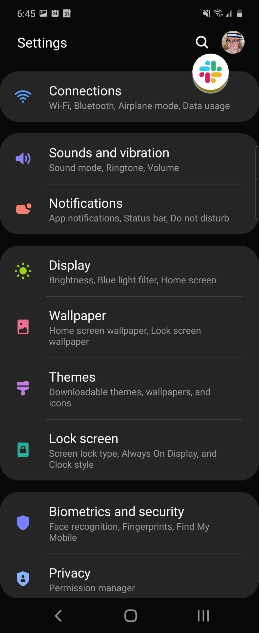 Galaxy Z Flip software screenshot 3.