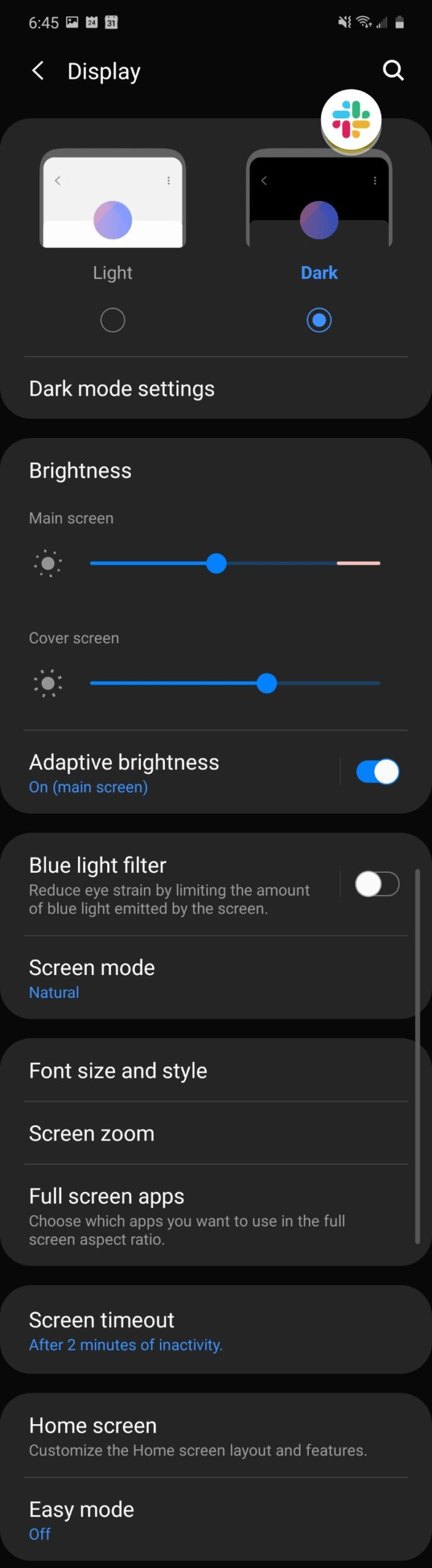 Galaxy Z Flip software screenshot 4