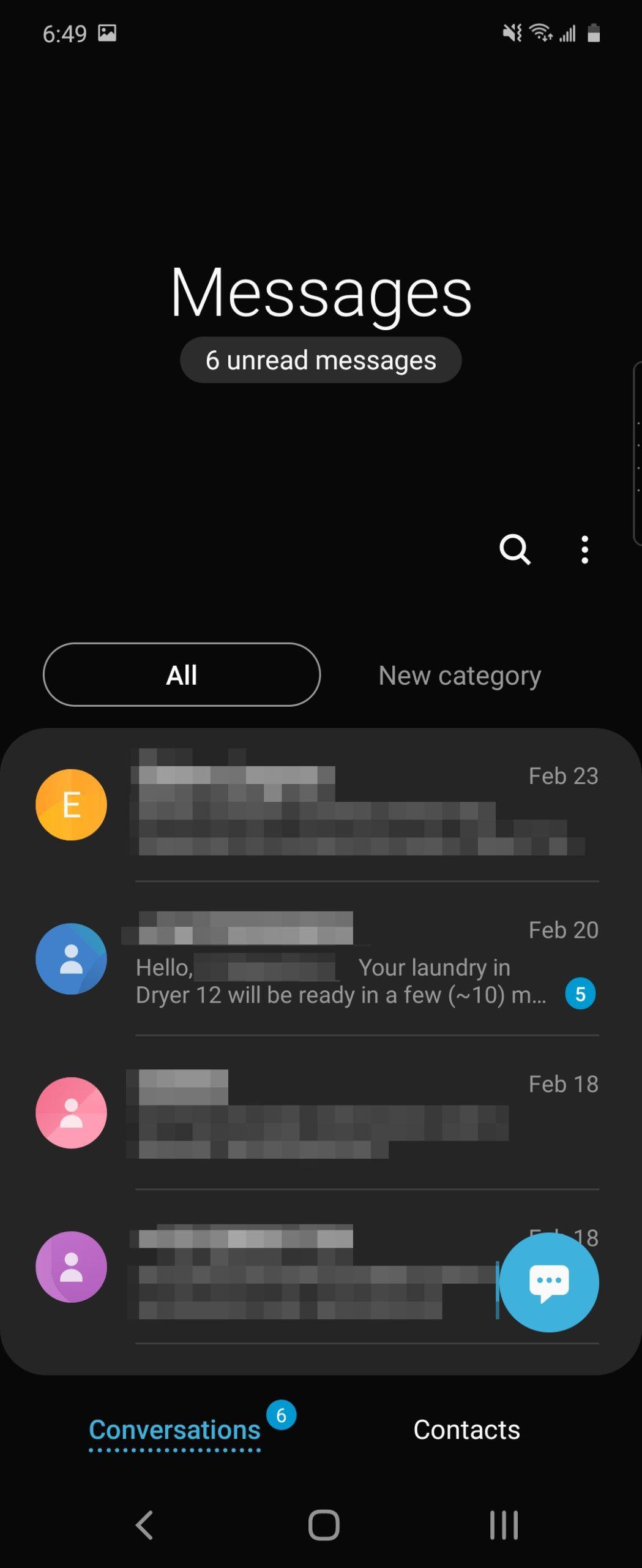 Galaxy Z Flip software screenshot 9