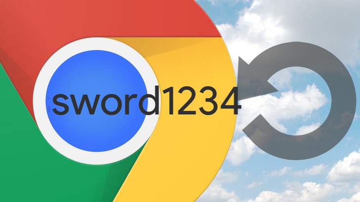 Chrome may let you choose between saving passwords locally or syncing to your Google account