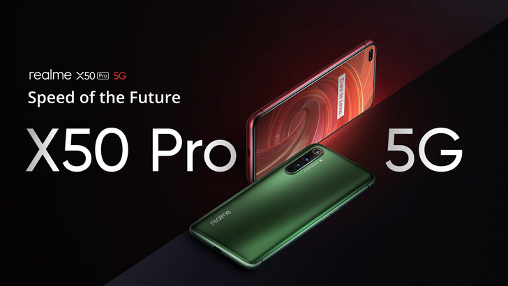 Realme X50 Pro 5G packs 6 cameras, Snapdragon 865, 65W fast-charging, and 90Hz display