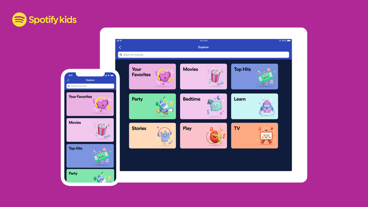 Spotify Kids launches in the US, Canada, France — now available in 12 countries (Update: New features)