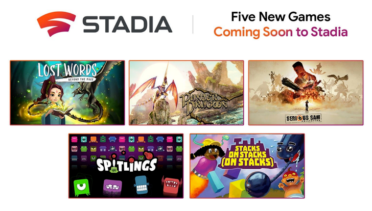 Serious Sam Collection and Panzer Dragoon: Remake are coming to Stadia (Update: Lost Words out now)