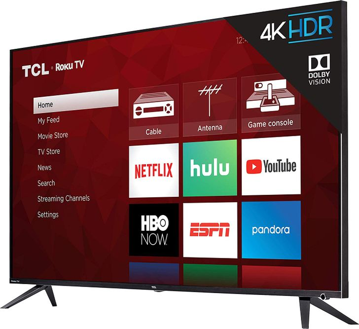 TCL 55-inch 4K Roku TV currently available for $479 ($50 off)