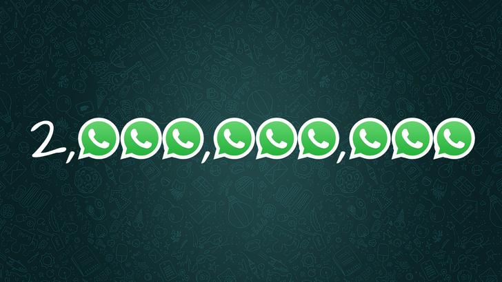 WhatsApp now serves 2 billion monthly users worldwide