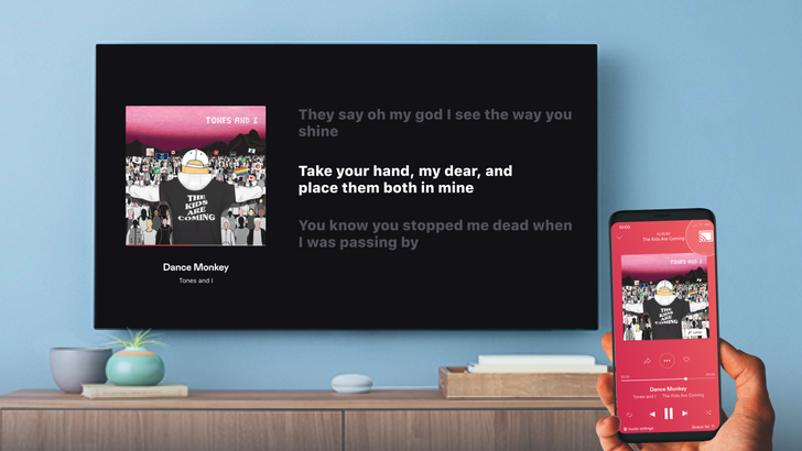 Deezer app adds music lyrics to Chromecast mode