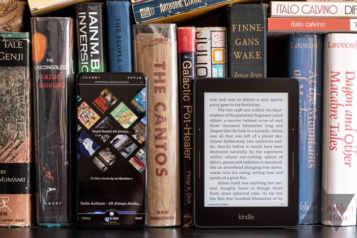 How to read all your local library's books on your phone or Kindle for free