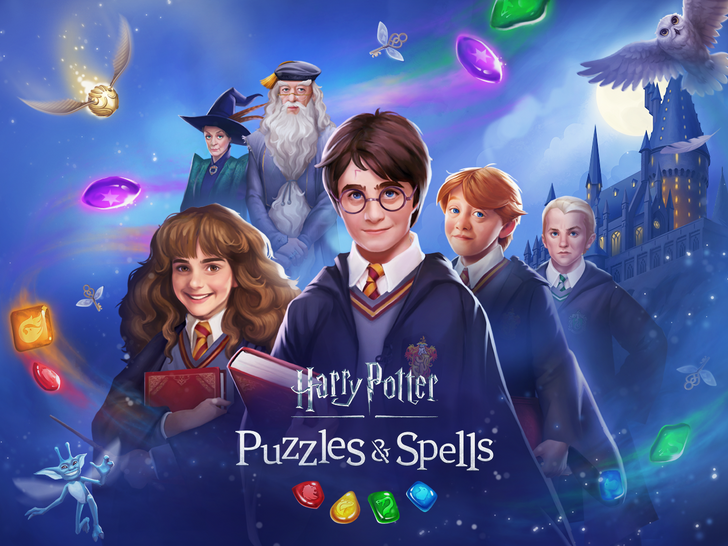 Harry Potter: Puzzles & Spells is the latest cash-grab from Zynga, now available on the Play Store