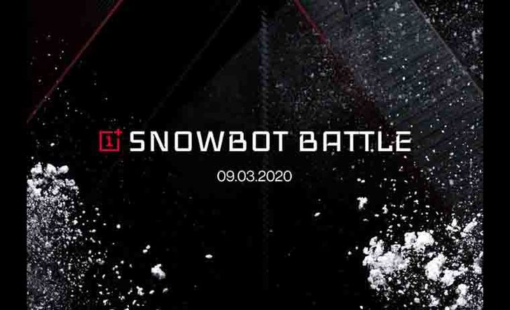 OnePlus thinks snowball-throwing robots are a good way to demonstrate the potential of 5G (Update: Livestream)