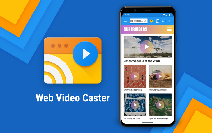 Web Video Caster can stream videos from Android and iOS to your Chromecast, Roku, Apple TV, and many more (Sponsored)