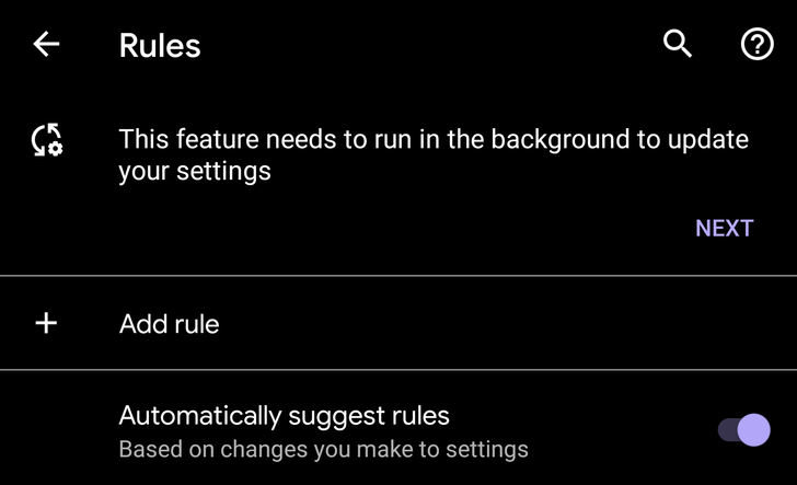 Google's Tasker-like Rules are rolling out to more Pixel users on Android 10