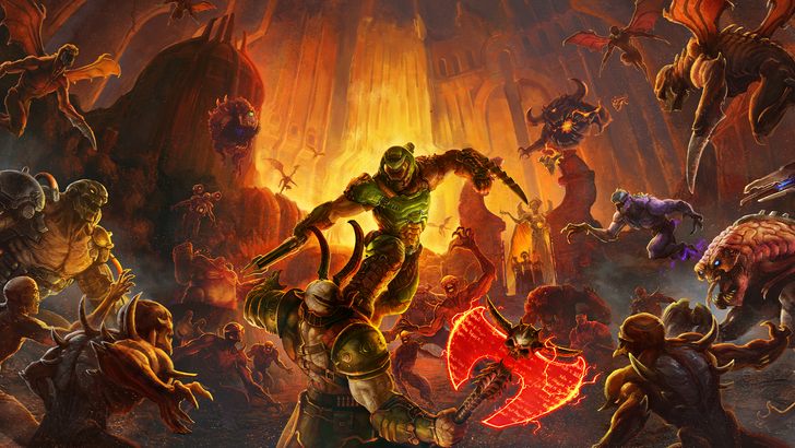Doom Eternal on Stadia won't be 'true 4K,' but it will outperform the PS4 Pro version