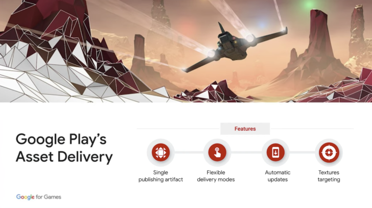Google Play introduces Asset Delivery system to streamline game downloads