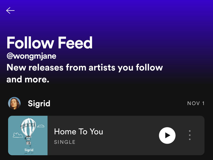 Spotify rolls out a better way to surface new music by artists you follow (Updated)