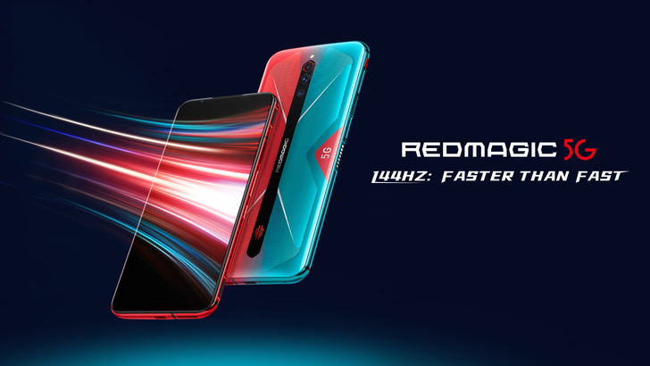 Nubia's powerhouse RedMagic 5G gaming phone with blazing 144Hz display now widely available starting at just $579 (Sponsored)