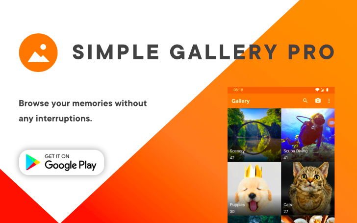 Simple Gallery Pro is a premium photo manager built with privacy in mind (Sponsored)