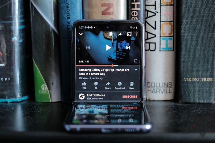 You can now exit fullscreen YouTube videos with a swipe down