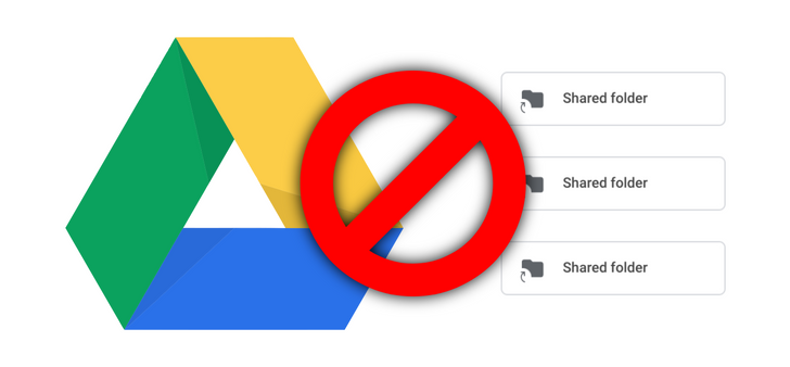 Google completely ruined shared folders in Drive (Update: Workaround, Google shares longterm plan)