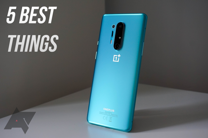 The 5 best things about the OnePlus 8 Pro