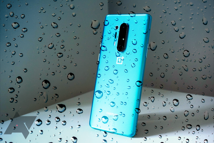 The OnePlus 8 Pro is the company's first IP68 water-resistant smartphone
