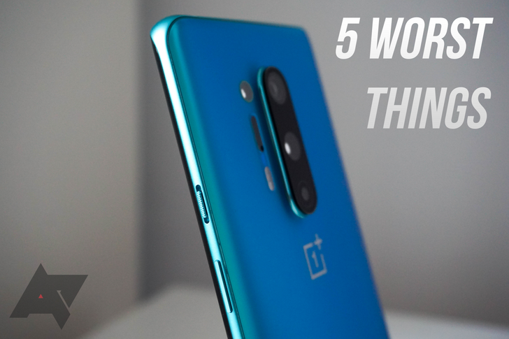 The 5 worst things about the OnePlus 8 Pro