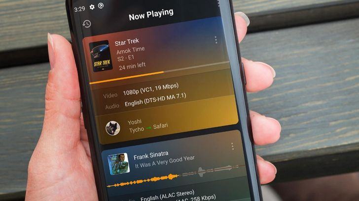 Plex launches its standalone music player and server management apps on Android