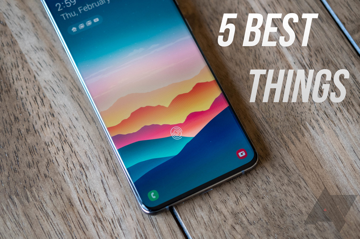 The 5 best things about the Samsung Galaxy S20 Ultra
