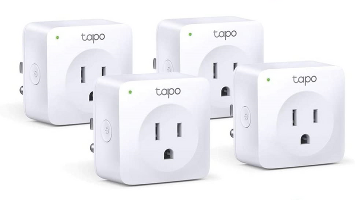 Grab a TP-Link Tapo Smart Plug Mini 4-pack for $24 ($6 off) with coupon code