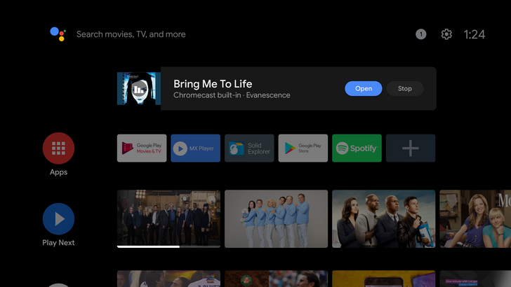 Chromecast audio streams can now play in the background on Android TV (APK download)