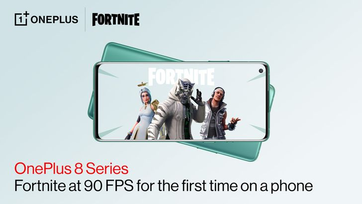 OnePlus eight and eight Professional are first telephones to run Fortnite at 90 FPS 3