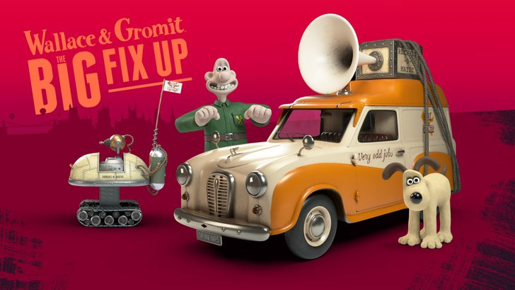 Wallace & Gromit are coming to Android in an augmented reality game