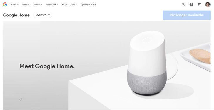 The original Google Home is no longer available on the Google Store — is a successor on the way?