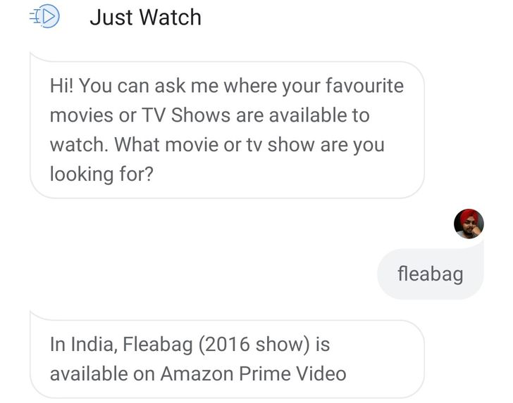 You can now talk to JustWatch on Google Assistant