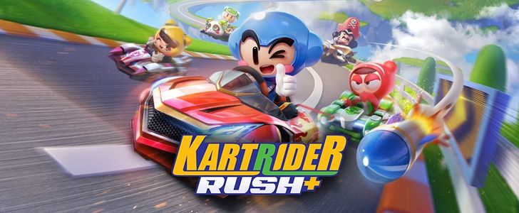 KartRider Rush+ is here to give Mario Kart Tour a run for its money