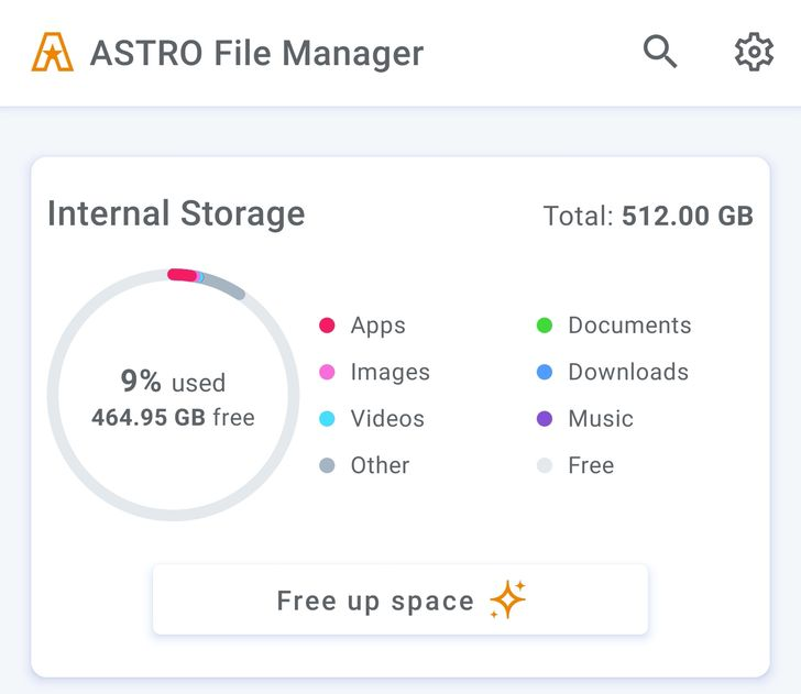 Astro File Manager gets modern redesign with dark mode in v8.0 (APK Download)