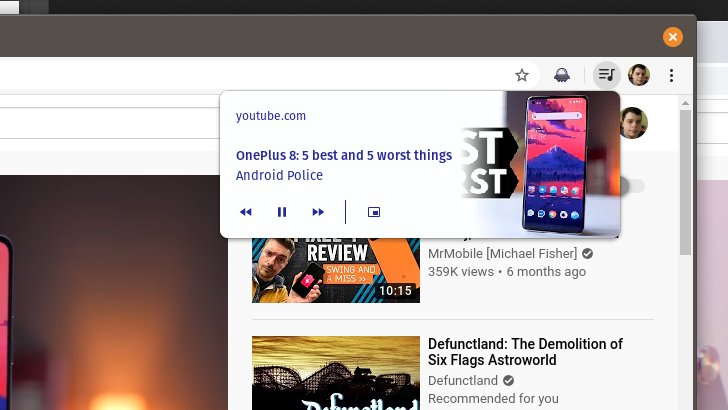 Chrome may allow sites to recommend videos in the browser with Media Feeds API