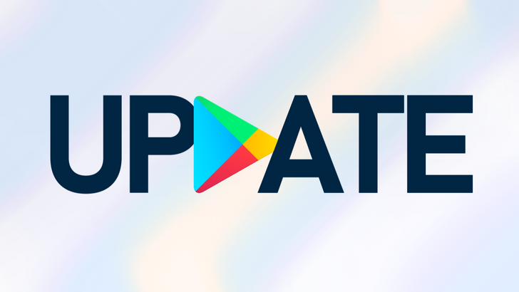 Google Play Store showing mysterious 'empty' app updates