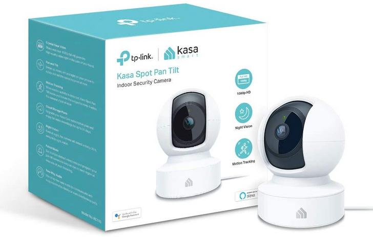Get the Kasa Spot Pan Tilt indoor security cam for $40 ($10 off) on Amazon
