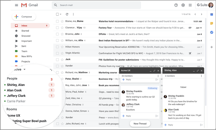 Full migration from Hangouts to Google Chat is now available for G Suite admins