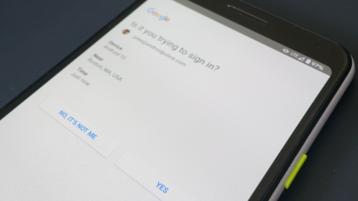 Google may stop letting you control which devices require a 2-step verification prompt