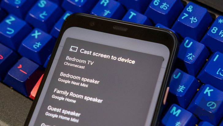 How to mirror your Android phone on a TV