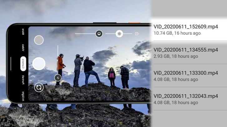 Android 11 will finally lift the idiotic 4GB cap on video recordings