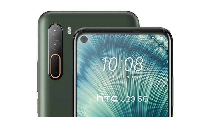 HTC unveils mid-range U20 5G and Desire 20 Pro with massive batteries and quad cams