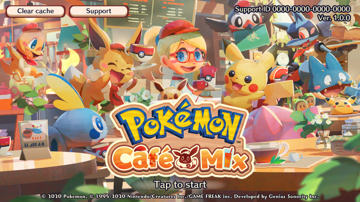 Match-3 game Pokemon Cafe Mix joins Pokémon Smile on the Play Store