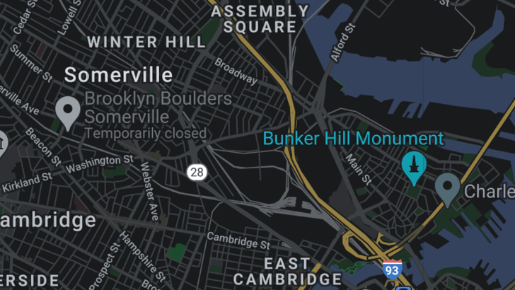Dark mode for Google Maps is almost ready for prime time