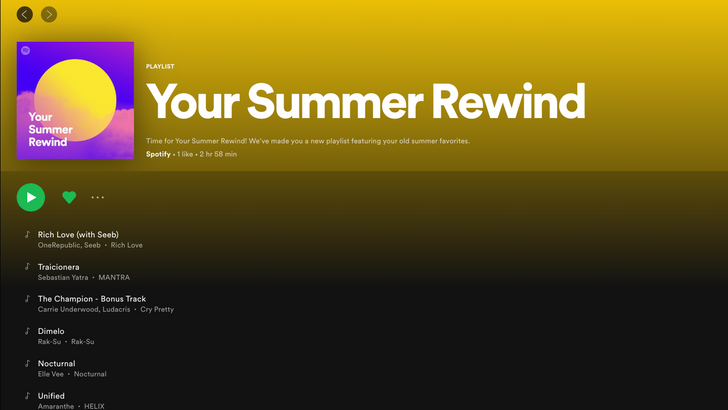 Spotify releases two new hot playlists for summer 2020