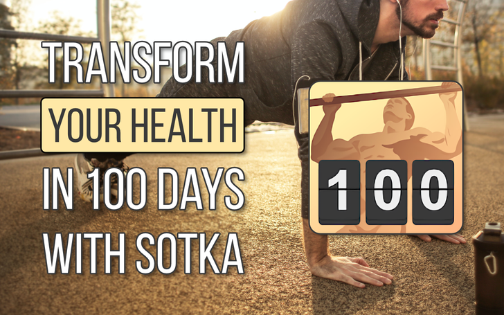 Transform your health in 100 days with SOTKA, the free educational fitness app (Sponsored)