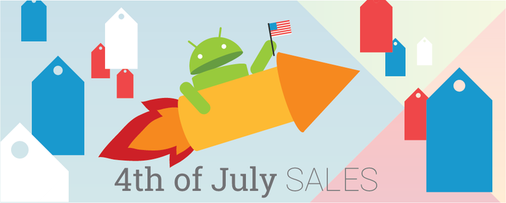 17 temporarily free and 39 on-sale apps and games for the 4th of July weekend