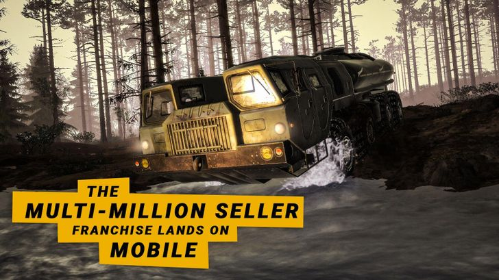 Off-roading simulation game MudRunner is now available on Android for $7